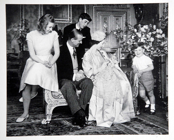Queen Elizabeth Holds Prince Edward Royal Family