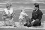 Prince William First Steps New Zealand 1983