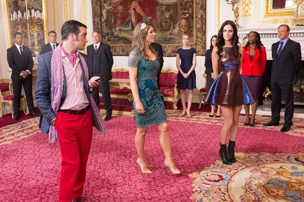 Elizabeth Hurley Alexandra Park The Royals