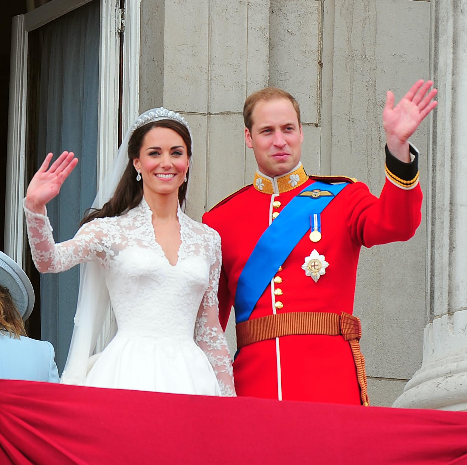 Prince William Kate Middleton Royal Wedding Balcony