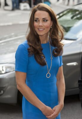 Kate Middleton Cartier Trinity Necklace National Portrait Gallery