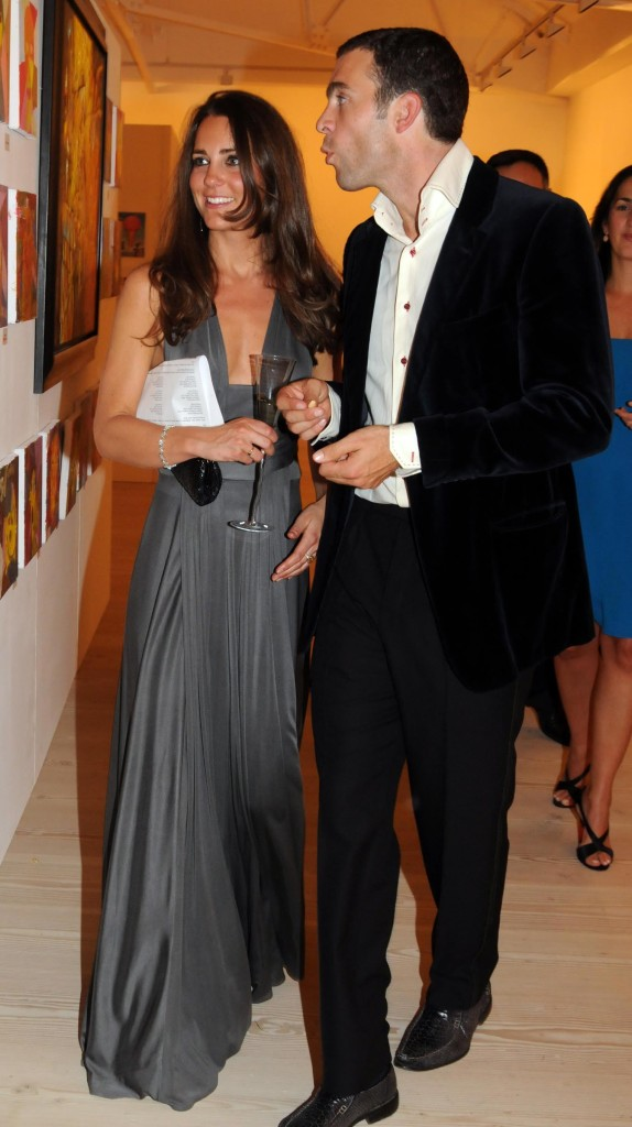 Kate Middleton Grey Issue Dress William van Cutsem Starlight Children's Foundation