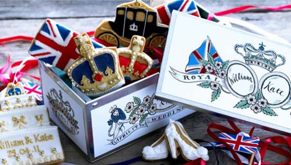 Biscuiteers Special Edition Tin Royal Wedding 2011