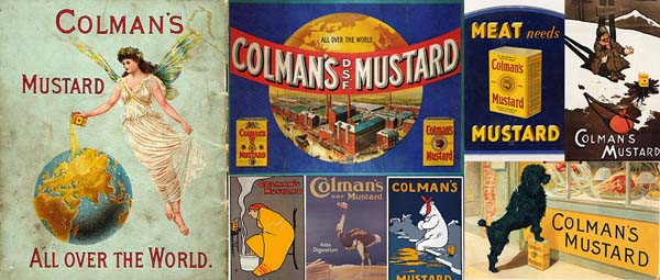 Ads Through The Years Colman's