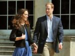 Kate Middleton Prince William Hold Hands Buckingham Palace Grounds After Wedding