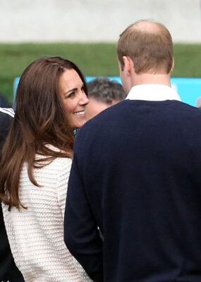 Kate Middleton Smiles Prince William Royal Tour New Zealand 2014