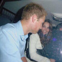 Kate Middleton Smiles Prince William Cab London Mahiki Nightclub