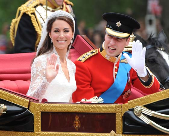 Prince William Kate Middleton State Landau Procession To Buckingham Palace