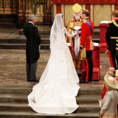 Prince William Kate Middleton Recite Wedding Vows Westminster Abbey
