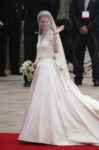 Kate Middleton Alexander McQueen Gown Waves Crowds Westminster Abbey