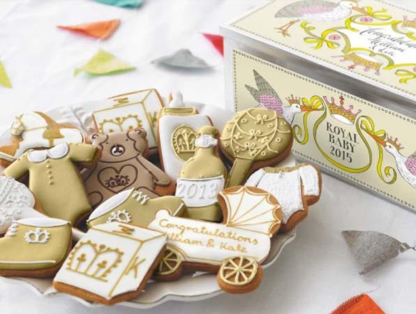 Biscuiteers Cookies Royal Baby Number Two