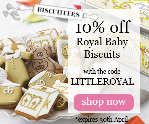 Biscuiteers Royal Baby Ad