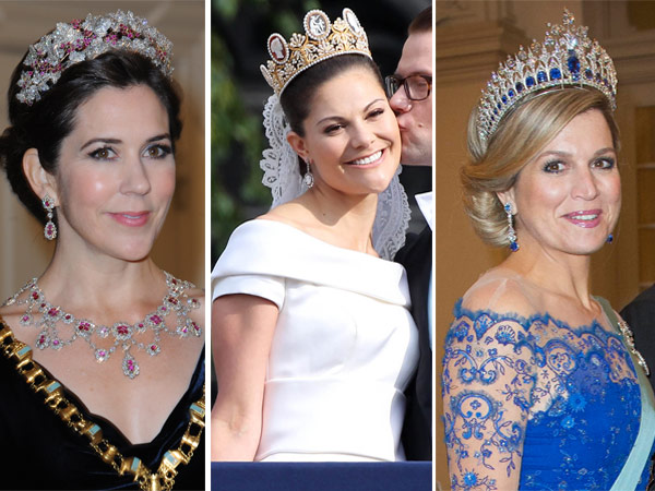 Royal Tiaras Crown Princess Mary Crown Princess Victoria Queen Maxima