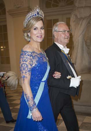 Queen Maxima Dutch Sapphire Parure Tiara