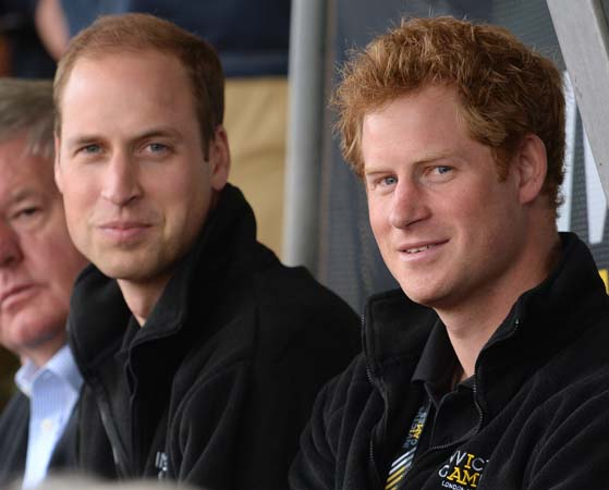 Prince Harry Prince William Invictus Games 2014