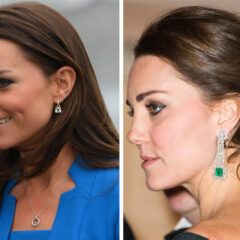 Kate Middleton Split Two Separate Earrings Occasions