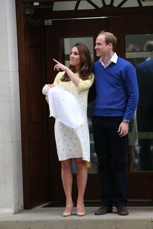 Prince William Kate Middleton Point Crowds