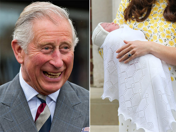 Prince Charles Gushes About Princess Charlotte