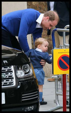 Prince George Gets Picked Up Prince George Lindo Wing