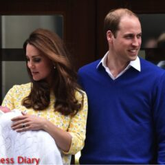prince william smiles kate middleton checks on princess charlotte lindo wing