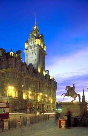 Balmoral Hotel Edinburgh Scotland