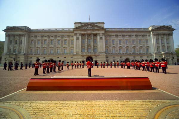 Changing Of the Guard Band Performing