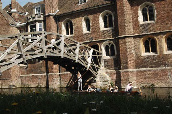 Mathematical Bridge Queen's College Cambridge