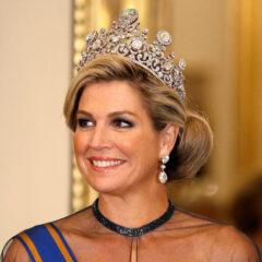 Queen Maxima Stuart Tiara 2018 State Visit U.K.