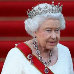 Queen Elizabeth II Rubies Tiara German State Dinner
