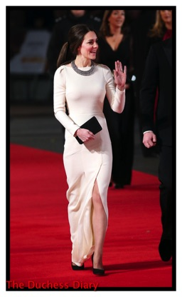Kate Middleton Roland Mouret Mandela Long Walk Freedom London