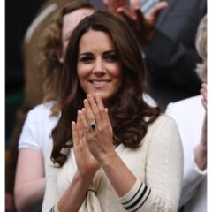 Kate Middleton Alexander McQueen Dress Wimbledon