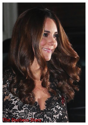 Kate Middleton Alice Temperley Gown St. Andrews Dinner London
