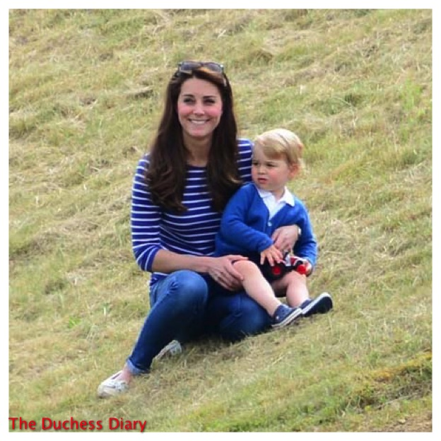 Kate Middleton Smiles Hillside Prince George Festival of Polo