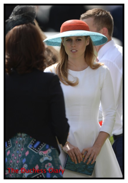 Princess Eugenie White Dress Ladies Day Royal Ascot 2015