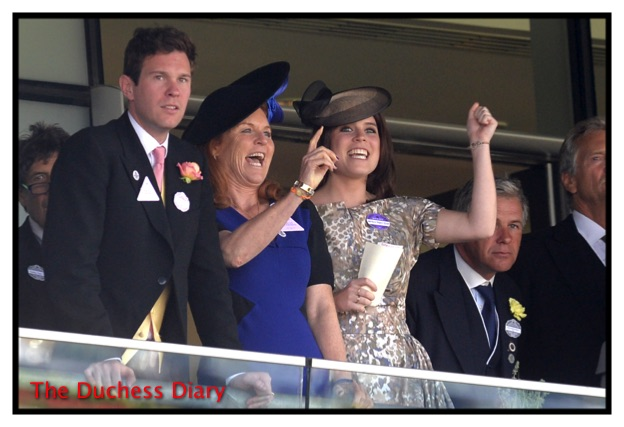 fergie princess beatrice royal box ascot day 4