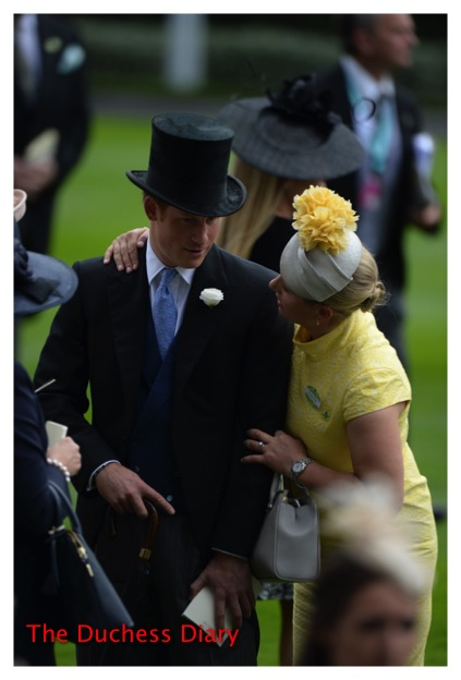 Prince Harry Zara Phillips Day One Royal Ascot