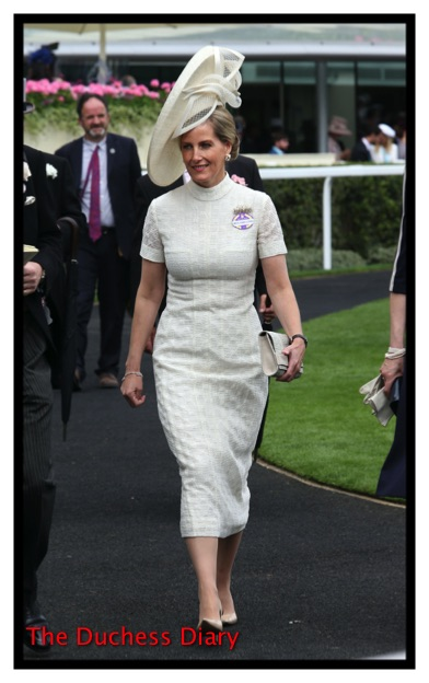 Sophie Countess Wessex Day One Royal Ascot