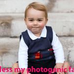 Prince George's Photogenic Face