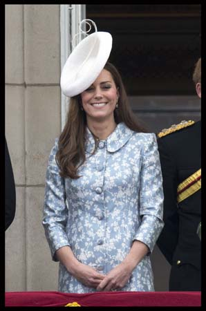 Kate Middleton Catherine Walker Dress Lock & Co Hat