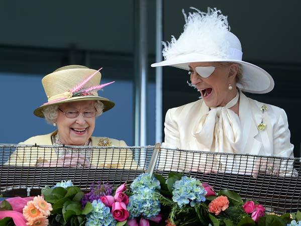Queen Elizabeth Princess Michael of Kent Eye Patch Epsom