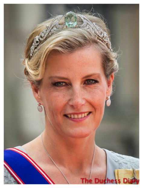 Sophie Countess Wessex Royal Wedding Sweden