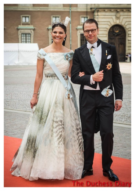 Crown Princess Victoria Prince Daniel Swedish Royal Wedding