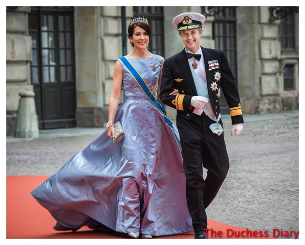 Crown Couple Princess Mary Prince Frederik Swedish Royal Wedding