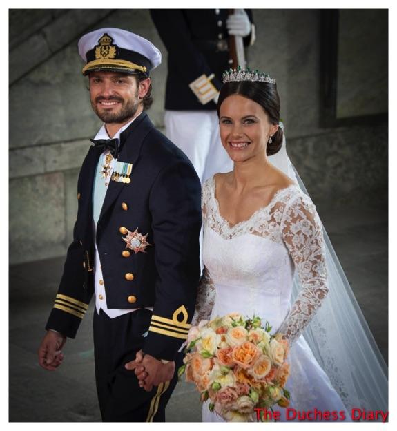 Prince Carl Philip Princess Sofia Just Married Sweden