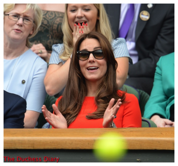 Kate Middleton Sunglasses Claps Wimbledon