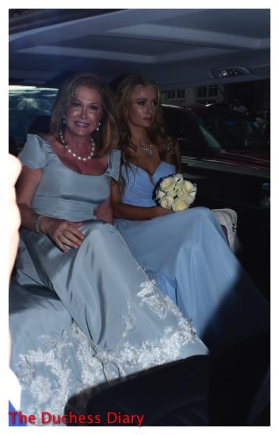 Paris Hilton Glum Car Kathy Hilton Claridge's