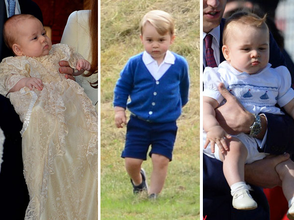 Prince George Different Wardrobe Looks Lead Image