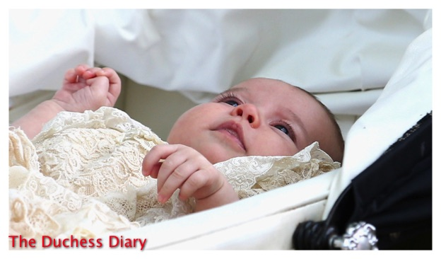 Princess Charlotte Honiton Lace Gown Pram St. Mary Magdalene