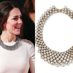 kate middleton cream roland mouret gown zara necklace split banana republic necklace