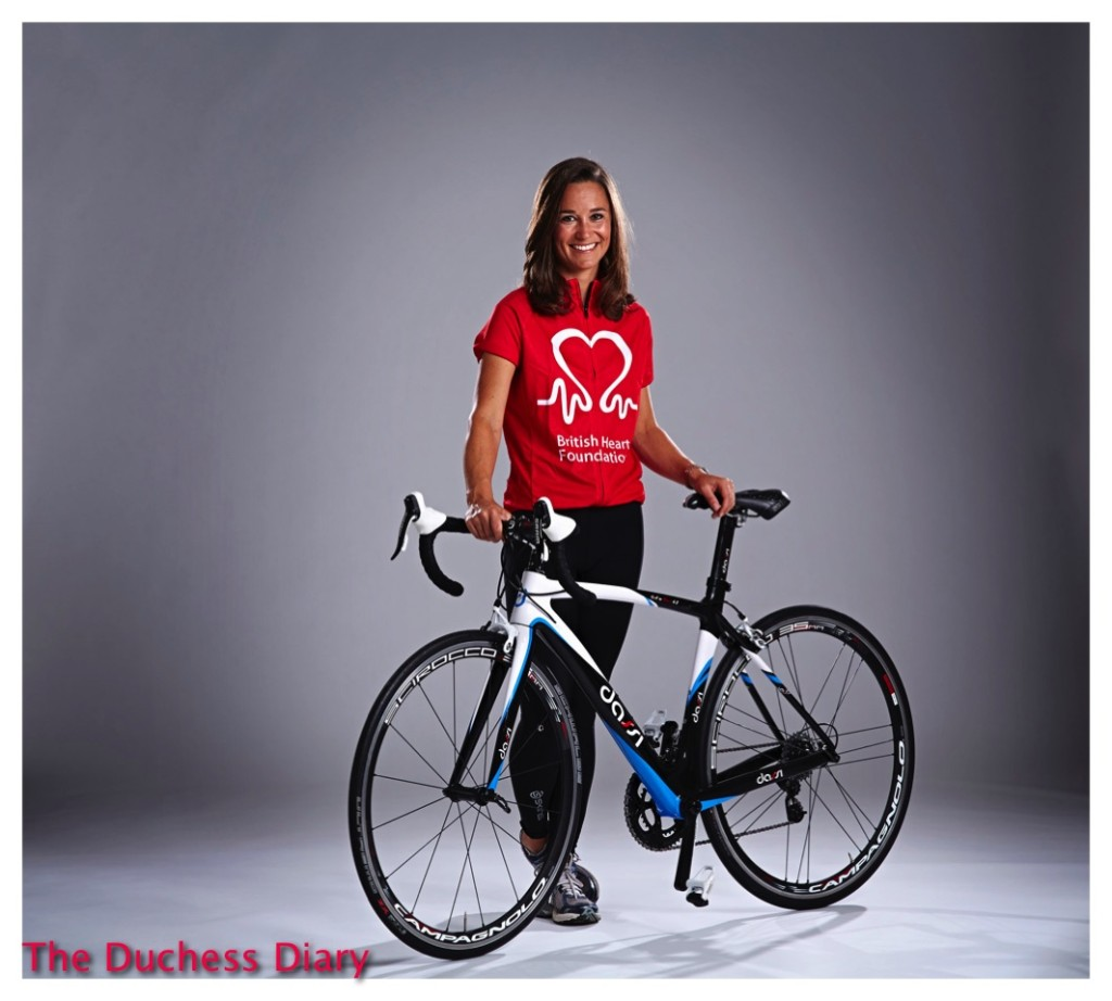Pippa Middleton British Heart Foundation Bicycle